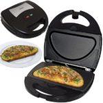 Omelettmaker mit austauschbaren Backplatten Syntrox SM-1300W Omelett